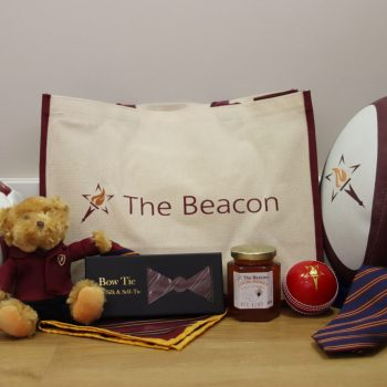 A selection of items we offer for sale at The Beacon School